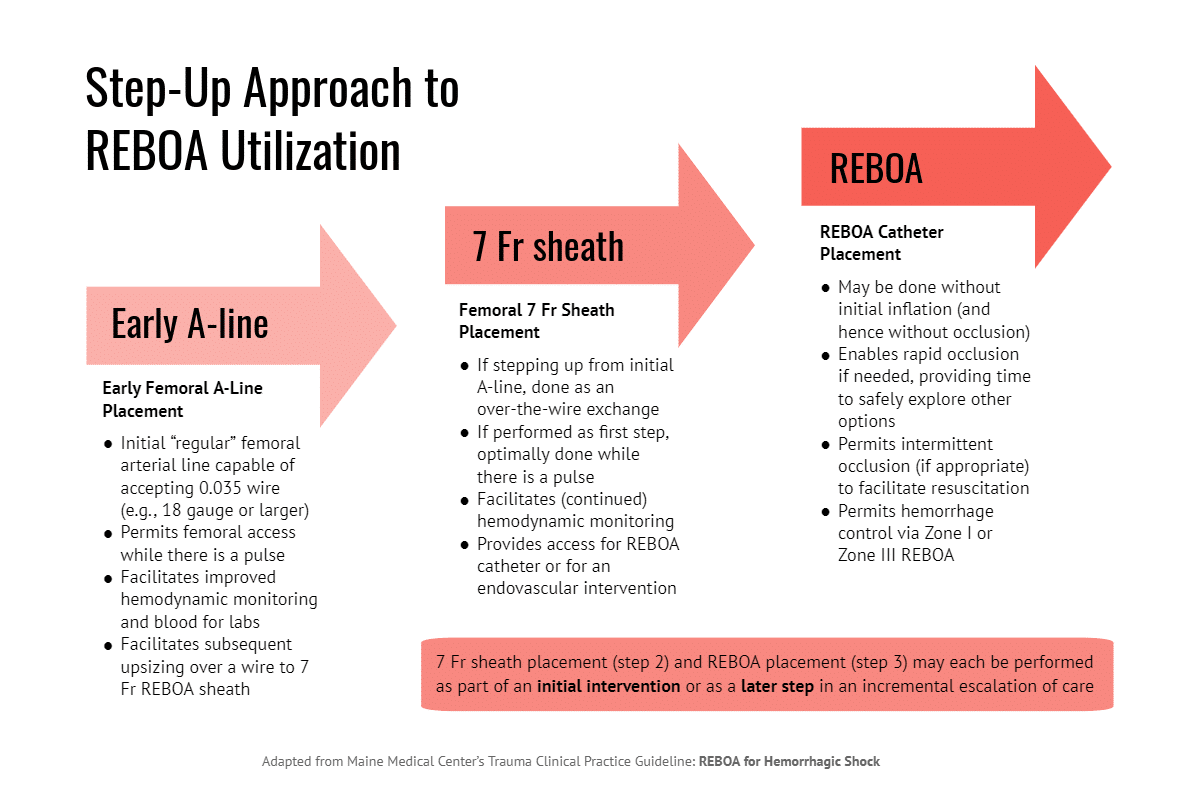 Step-Up Approach to REBOA Utilization